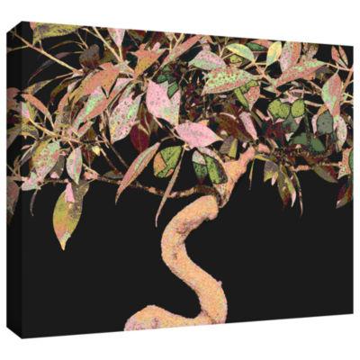 Brushstone Pastel Bonsai Gallery Wrapped Canvas Wall Art