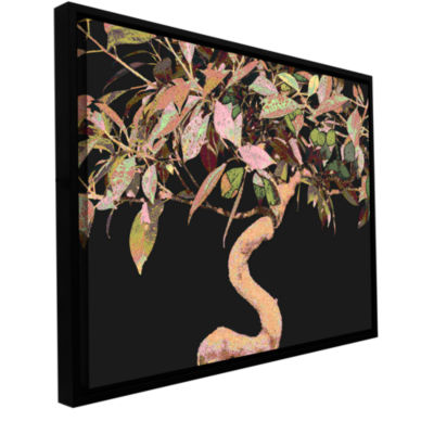 Brushstone Pastel Bonsai Gallery Wrapped Floater-Framed Canvas Wall Art