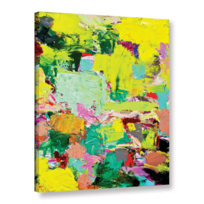 Brushstone Light Rays Gallery Wrapped Canvas Wall Art