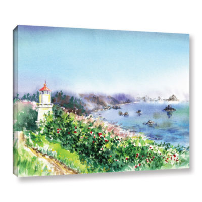 Brushstone Lighthouse Trinidat Gallery Wrapped Canvas Wall Art