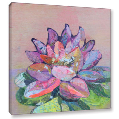 Brushstone Lotus 5 Gallery Wrapped Canvas Wall Art
