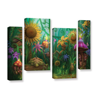 Brushstone Meet The Imaginaries 4-pc. Gallery Wrapped Staggered Canvas Wall Art