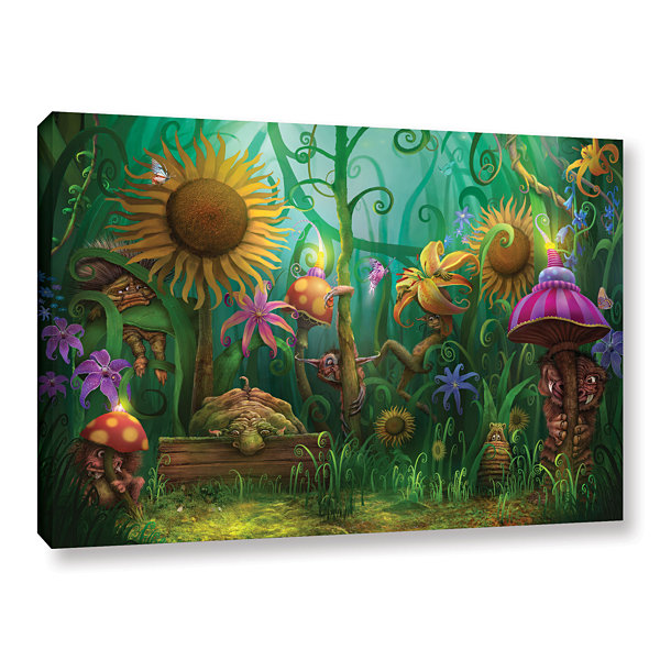 Brushstone Meet The Imaginaries Gallery Wrapped Canvas Wall Art
