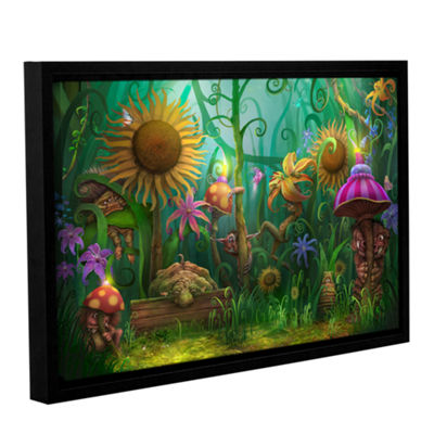 Brushstone Meet The Imaginaries Gallery Wrapped Floater-Framed Canvas Wall Art