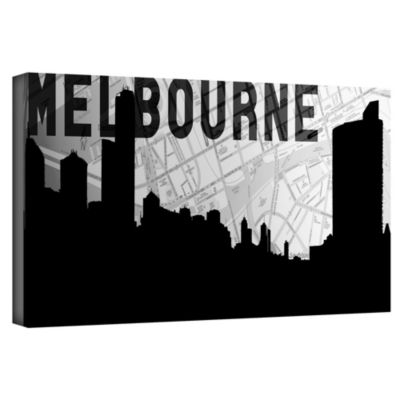 Brushstone Melbourne Gallery Wrapped Canvas Wall Art