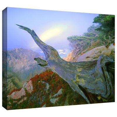 Brushstone Like A Flame Gallery Wrapped Canvas Wall Art