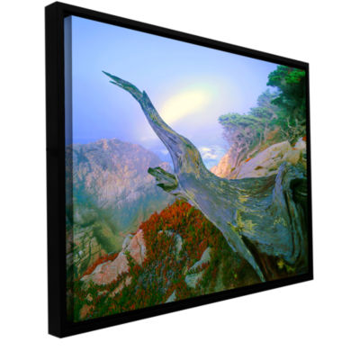 Brushstone Like A Flame Gallery Wrapped Floater-Framed Canvas Wall Art