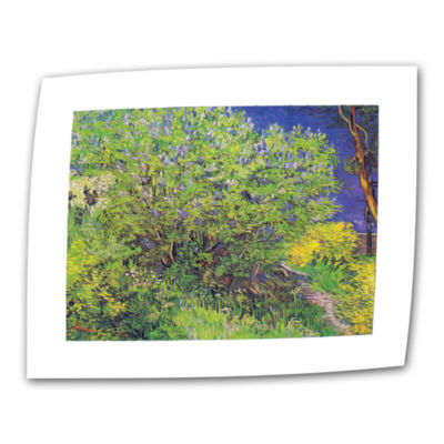 Brushstone Lilacs Canvas Wall Art