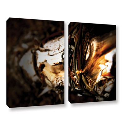 Brushstone Mend 2-pc. Gallery Wrapped Canvas WallArt