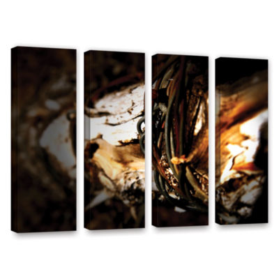 Brushstone Mend 4-pc. Gallery Wrapped Canvas WallArt
