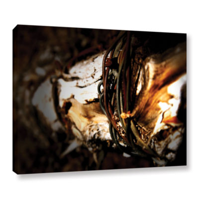 Brushstone Mend Gallery Wrapped Canvas Wall Art