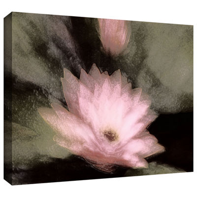 Brushstone Lily And Bud Gallery Wrapped Canvas Wall Art