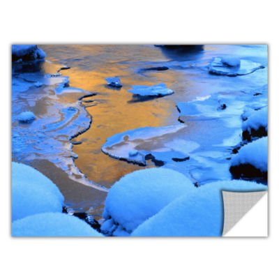 Brushstone Merced River Sunset (Yosemite) Removable Wall Decal