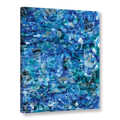 Brushstone Mermaids (046) Gallery Wrapped Canvas Wall Art