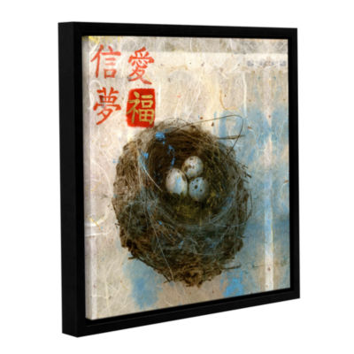 Brushstone Love Trust Dream Fortune Gallery Wrapped Floater-Framed Canvas Wall Art
