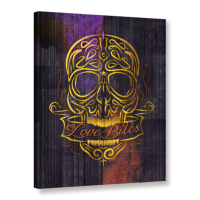 Brushstone Love Bites Gallery Wrapped Canvas Wall Art