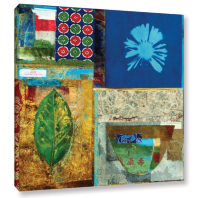 Brushstone May You Grow Rich Gallery Wrapped Canvas Wall Art