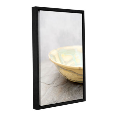 Brushstone Mazamar Bowl Gallery Wrapped Floater-Framed Canvas Wall Art