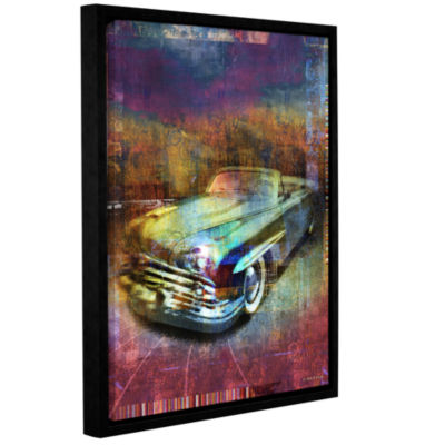 Brushstone Lincoln Gallery Wrapped Floater-FramedCanvas Wall Art