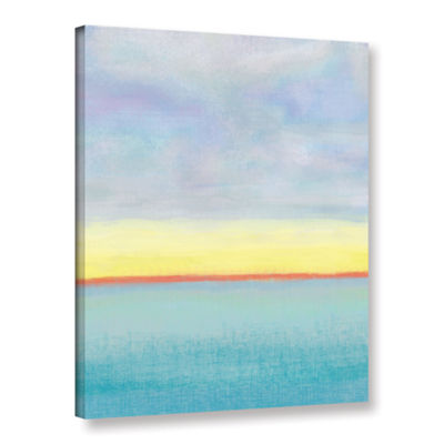 Brushstone Meadow 1 Gallery Wrapped Canvas Wall Art