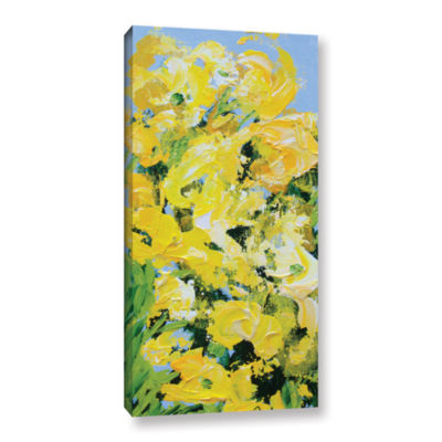 Brushstone Lion Grove Garden Gallery Wrapped Canvas Wall Art