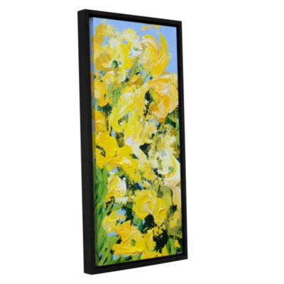 Brushstone Lion Grove Garden Gallery Wrapped Floater-Framed Canvas Wall Art