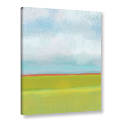 Brushstone Meadow 2 Gallery Wrapped Canvas Wall Art