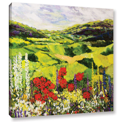 Brushstone Meadow Lark Gallery Wrapped Canvas Wall Art