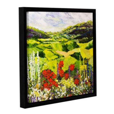 Brushstone Meadow Lark Gallery Wrapped Floater-Framed Canvas Wall Art