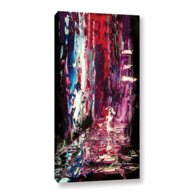 Brushstone Lovely Lady Gallery Wrapped Canvas Wall Art
