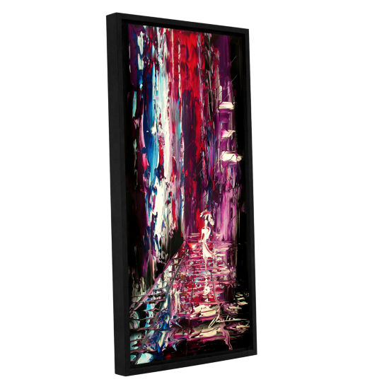 Brushstone Lovely Lady Gallery Wrapped Floater-Framed Canvas Wall Art