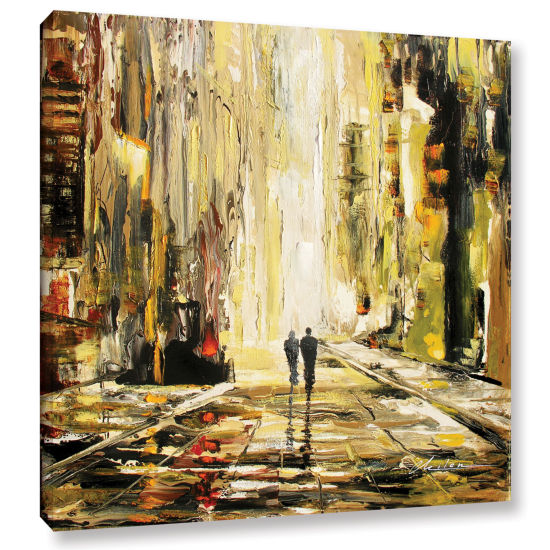 Brushstone Lover's Lane Gallery Wrapped Canvas Wall Art