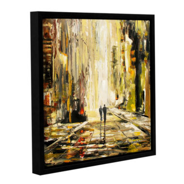 Brushstone Lover's Lane Gallery Wrapped Floater-Framed Canvas Wall Art