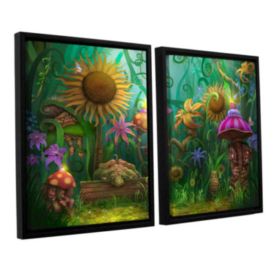 Brushstone Meet The Imaginaries 2-pc. Floater Framed Canvas Wall Art