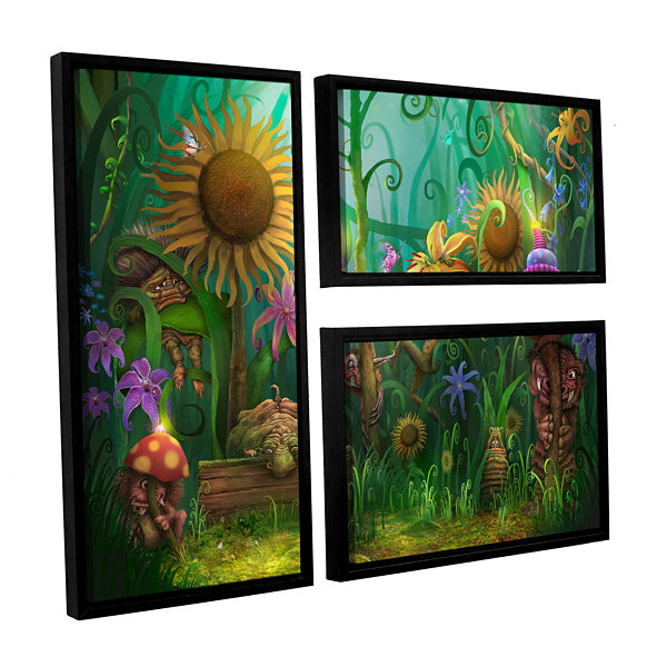 Brushstone Meet The Imaginaries 3-pc. Flag FloaterFramed Canvas Wall Art
