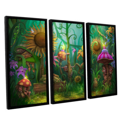 Brushstone Meet The Imaginaries 3-pc. Floater Framed Canvas Wall Art