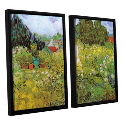 Brushstone Marguerite Gachet In The Garden 2-pc. Floater Framed Canvas Wall Art