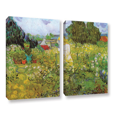 Brushstone Marguerite Gachet In The Garden 2-pc. Gallery Wrapped Canvas Wall Art
