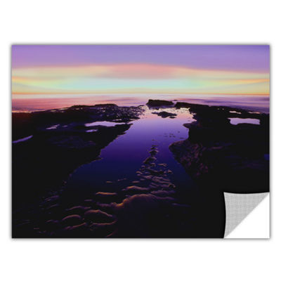 Brushstone Low Tide Afterglow Removable Wall Decal