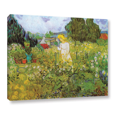 Brushstone Marguerite Gachet In The Garden GalleryWrapped Canvas Wall Art