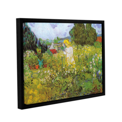 Brushstone Marguerite Gachet In The Garden GalleryWrapped Floater-Framed Canvas Wall Art