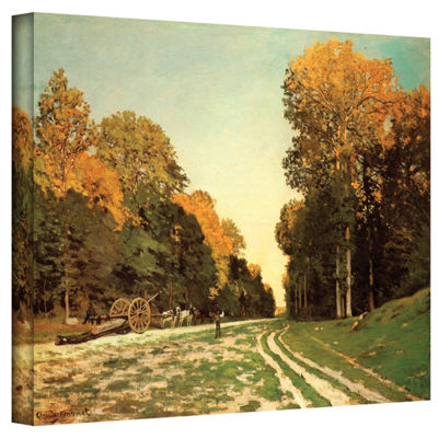 Brushstone Lumber Wagon Gallery Wrapped Canvas Wall Art