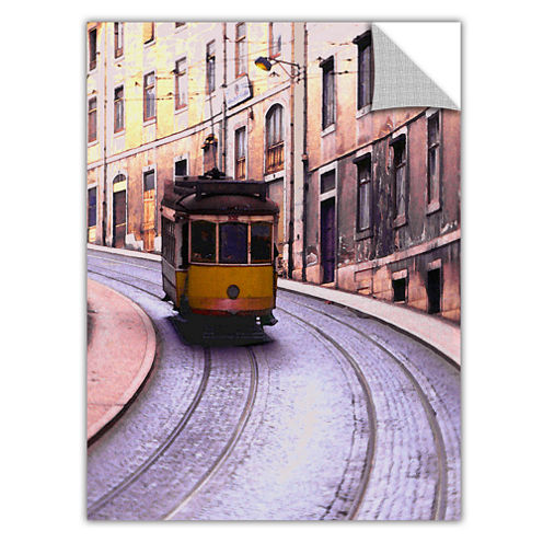 Brushstone Lisbon Transit Removable Wall Decal