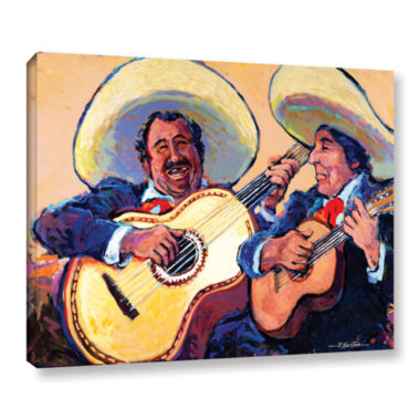 Brushstone Mariachi De Cabo Gallery Wrapped Canvas Wall Art