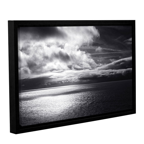 Brushstone Luminescent Sky Gallery Wrapped Floater-Framed Canvas Wall Art