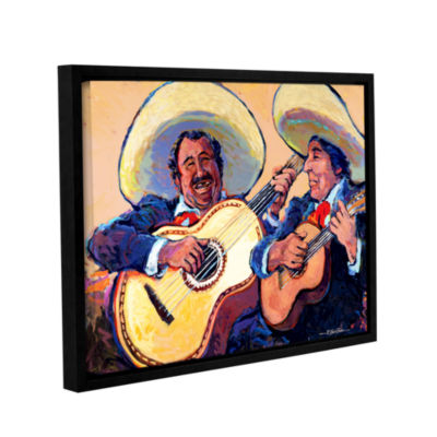 Brushstone Mariachi De Cabo Gallery Wrapped Floater-Framed Canvas Wall Art