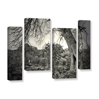 Brushstone Listen To Whispers 4-pc. Gallery Wrapped Staggered Canvas Wall Art