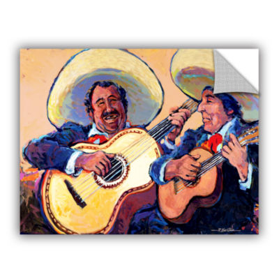 Brushstone Mariachi De Cabo Removable Wall Decal