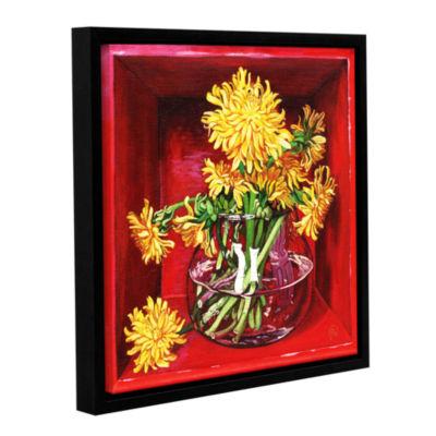 Brushstone Little Box Of Sunshine Gallery WrappedFloater-Framed Canvas Wall Art