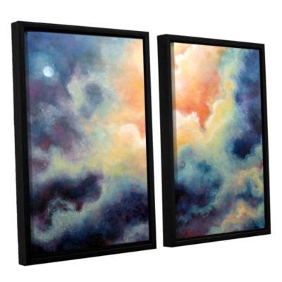 Brushstone Marina 2-pc. Floater Framed Canvas WallArt